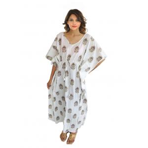 KC300020 - Beautiful Cotton Night Dress Kafthan