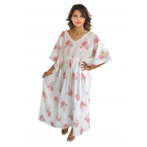 KC300021 - Beautiful Cotton Night Dress Kafthan