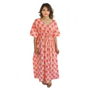 KC300022 - Beautiful Cotton Night Dress Kafthan