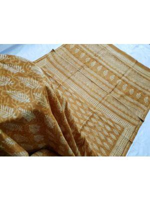 KC120020 - Chanderi Silk Cotton Saree