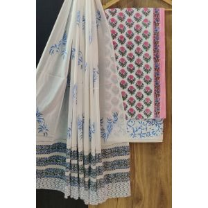 KC20841 - Cotton Dress Material with Cotton Dupatta