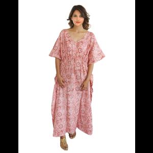 KC300014 - Beautiful Cotton Night Dress Kafthan
