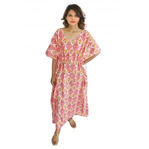 KC300018 - Beautiful Cotton Night Dress Kafthan