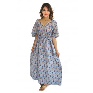KC300019 - Beautiful Cotton Night Dress Kafthan