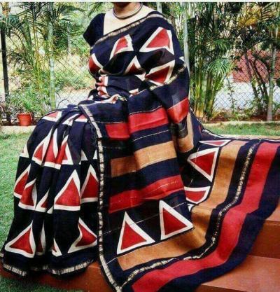 Chanderi Silk Dress Materials